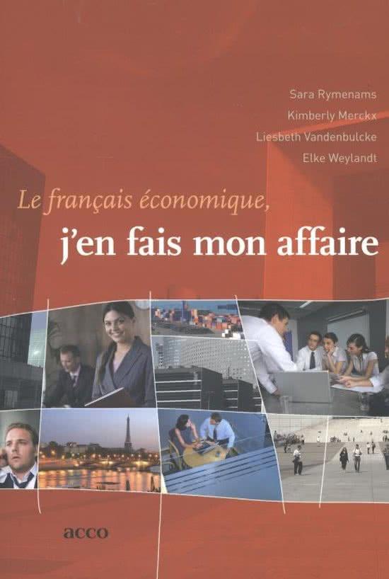 book-image-Le francais economique